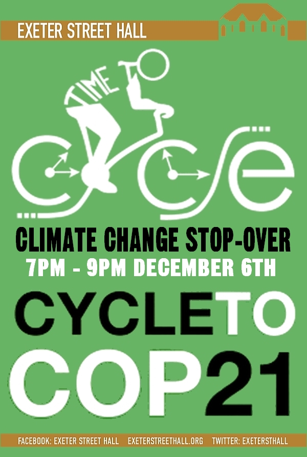 Ride_To_COP21_Sleep-over_Poster