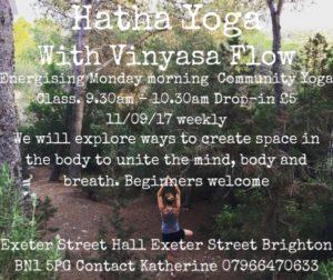 Hatha (formerly Community) Yoga Class