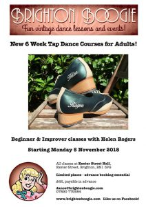 Brighton Boogie Tap Classes
