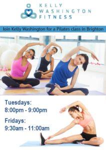 Pilates with Kelly Washington