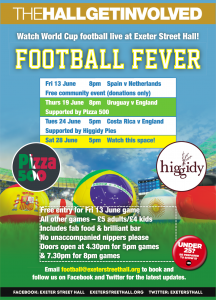 FREE (Donations only) THGI World Cup Event - Spain v Netherlands 8pm Kick Off
