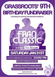 Grassroots Birthday Fundraiser
