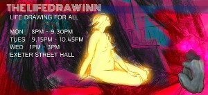 Night Owls: Life Drawing at The Lifedraw Inn