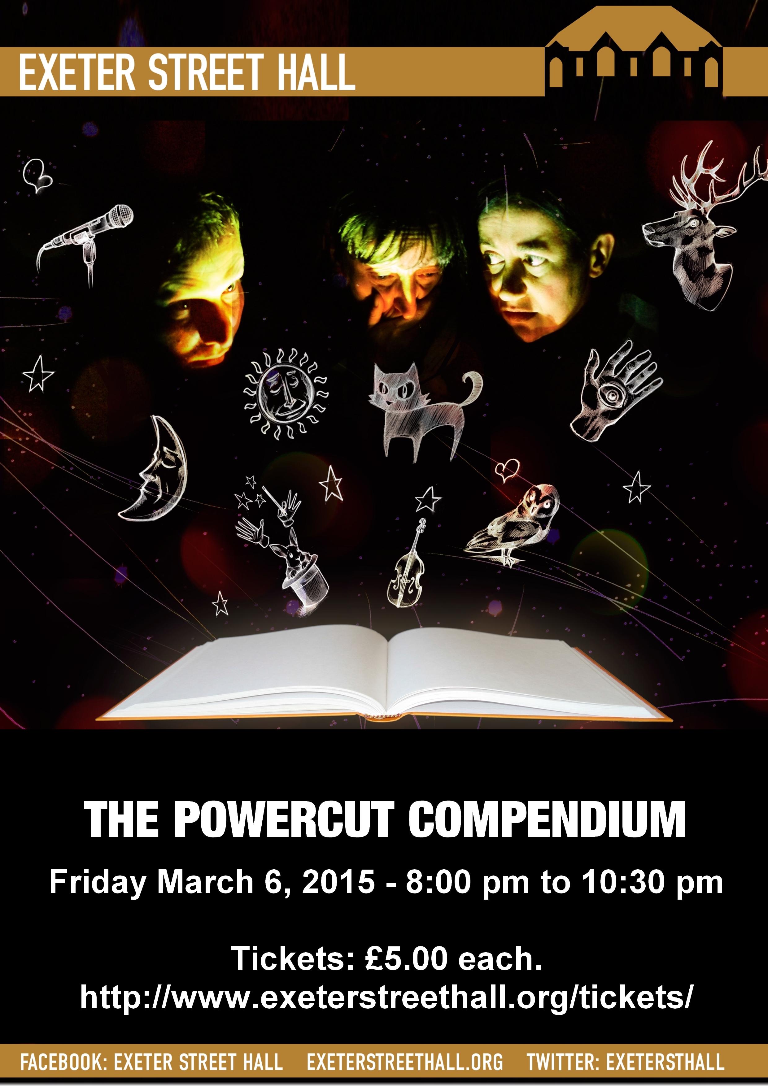 The Powercut Compendium Poster