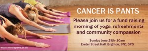 Cancer Is Pants Yoga Workshop!