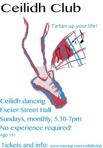 Ceilidh Club at Exeter Street Hall