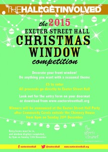Christmas Window Competition – 2015 NEW Closing Date