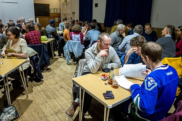 Pop Quiz at Exeter Street Hall