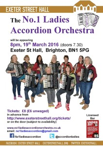 The No 1 Ladies Accordion Orchestra