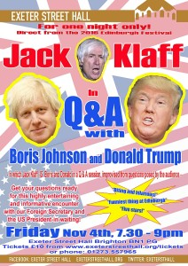 Jack Klaff in Q & A with Boris & Donald