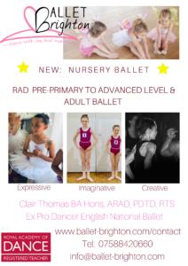 Ballet Brighton Class – Adult Intermediate/Advanced Ballet
