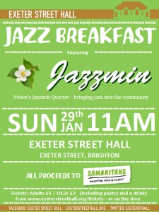 Jazz Breakfast (in aid of the Samaritans)