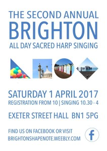 Brighton All Day Sacred Harp Singing