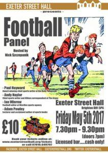 Football Panel @ Exeter Street Hall