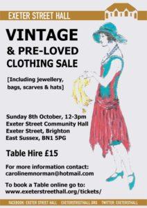 Vintage Clothing Sale – Exeter Street Hall