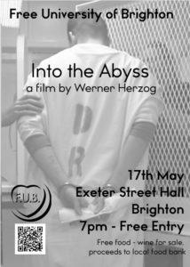 Free University of Brighton - Free Herzog Screening @ Exeter Street Hall