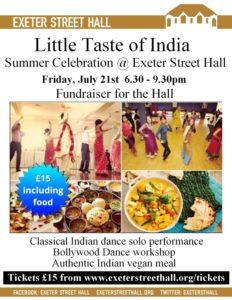 Little Taste of India @ Exeter Street Hall