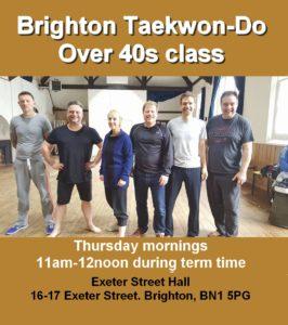 Brighton Taekwon-Do - Over 40s
