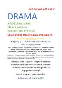 Drama Class @ Exeter Street Hall