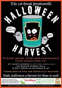 Halloween Harvest @ Exeter Street Hall