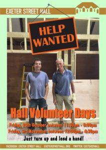 Hall Volunteer Days
