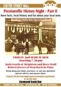 Prestonville History Night - Part II
