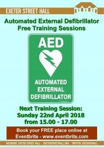 Free Defibrillator Training - April 2018