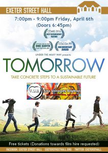 Tomorrow @ Exeter Street Hall