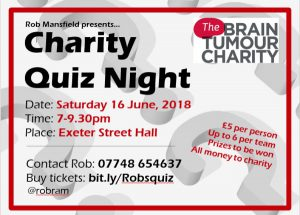 The Brain Tumour Charity Quiz-Night