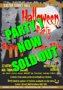 Halloween Party 2018: No 1