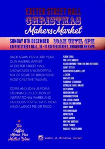 Exeter Street Hall Xmas Makers Market 2019