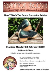 Brighton Boogie – Tap Dance Classes