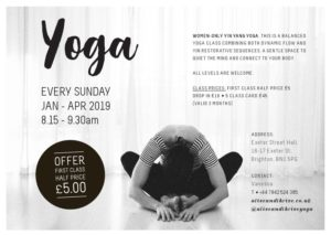 Women Only Yin Yang Yoga